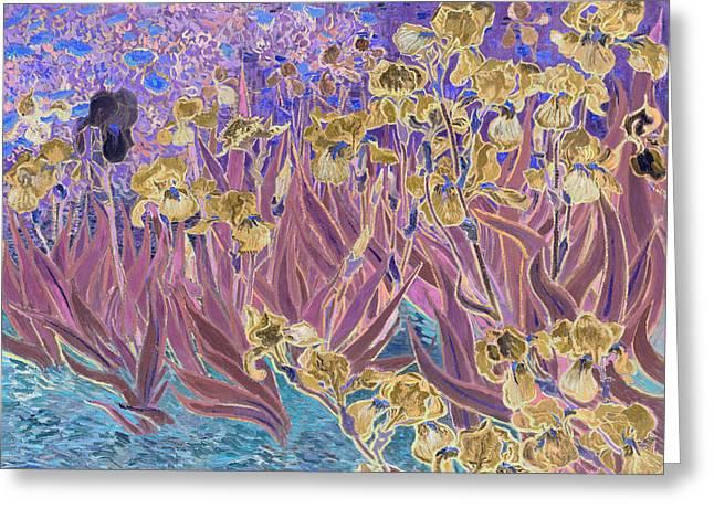 Inv Blend 6 Van Gogh Greeting Card