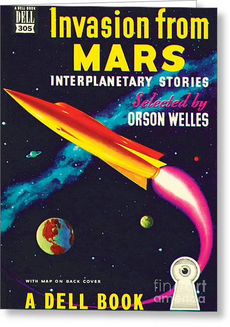 Invasion From Mars Greeting Card