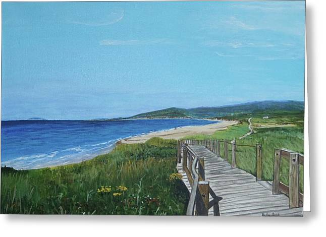 Inverness Beach Greeting Card