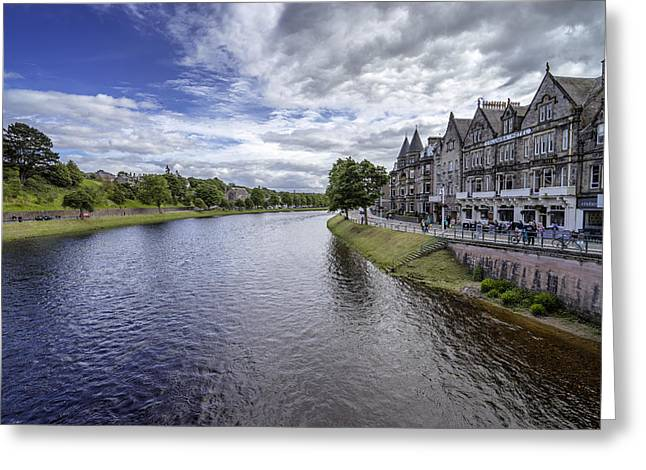 Greeting Card featuring the photograph Inverness by Jeremy Lavender Photography