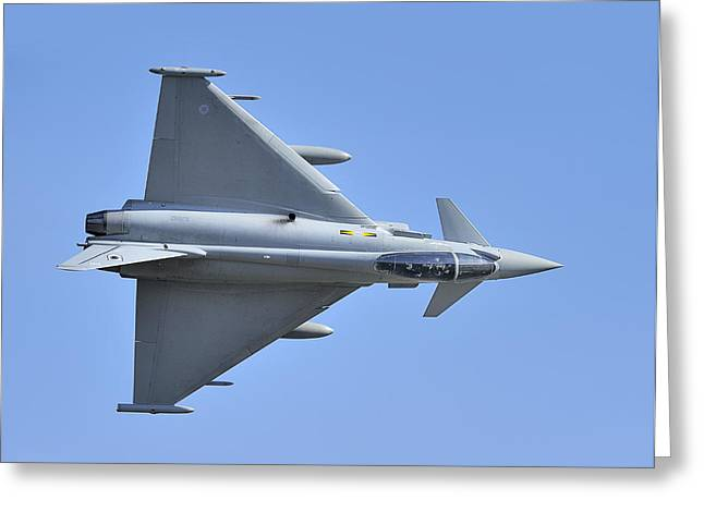 Inverted Typhoon In The Welsh Hills Greeting Card by Barry Culling