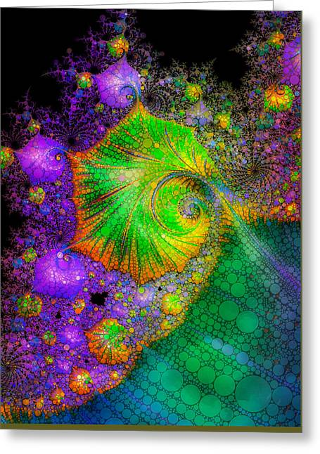 Investigating Fractals Two Greeting Card