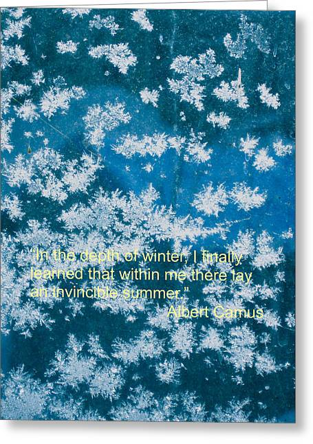 Invincible Summer Within Greeting Card