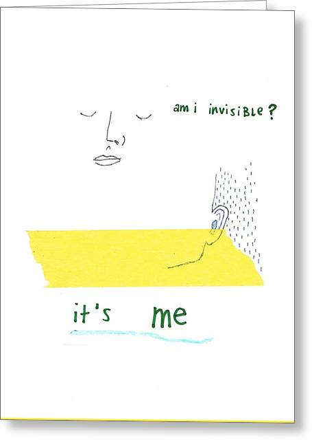 Invisibility Greeting Card