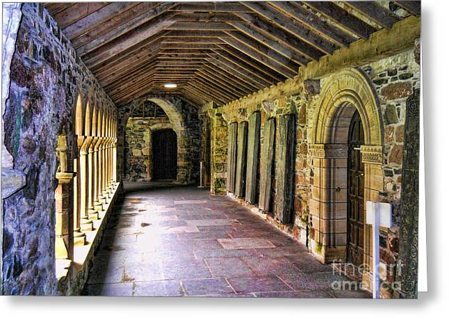 Arched Invitation Passageway Greeting Card