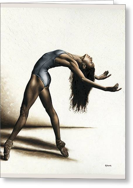 Invitation To Dance Greeting Card by Richard Young