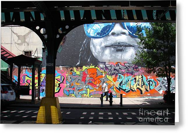 Inwood Street Art  Greeting Card