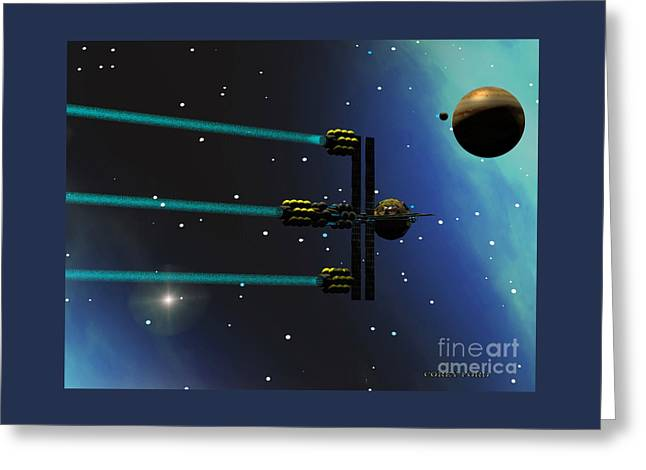 Ion Starliner Greeting Card