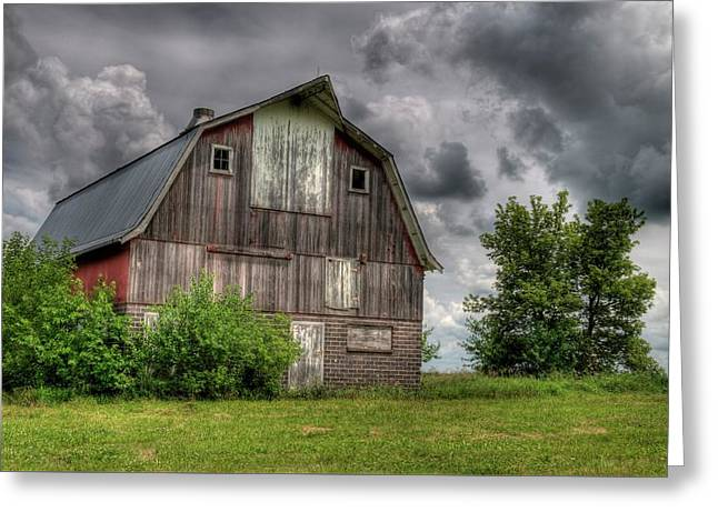 Iowa Barn Greeting Card