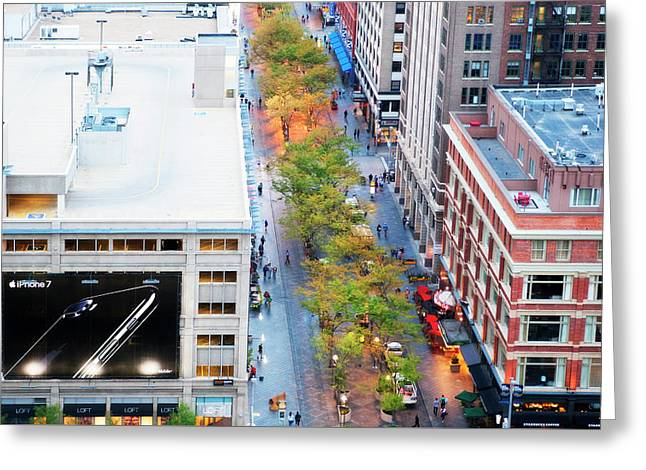 iPhone 7 Ad Denver Greeting Card