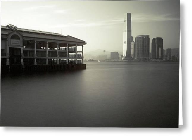 Sea View Greeting Cards - Ir 015 Greeting Card by Kam Chuen Dung