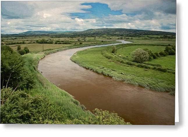 Ireland River Greeting Card