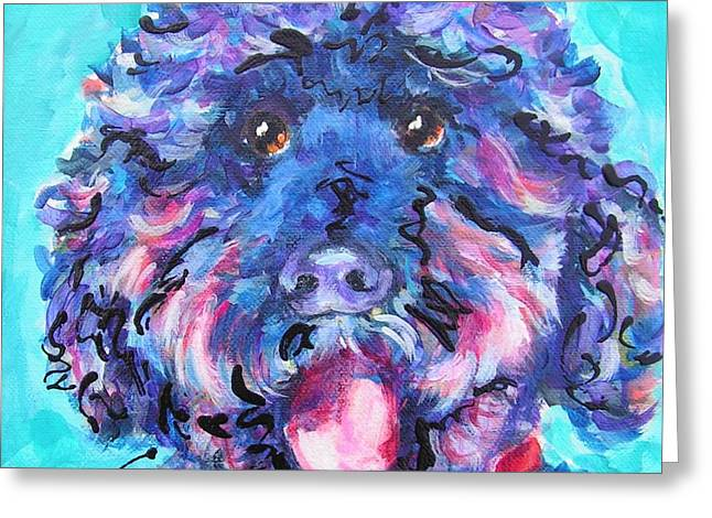 Irie Labradoodle Greeting Card