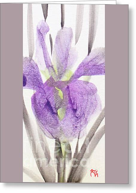 Iris 12050017-2fy Greeting Card