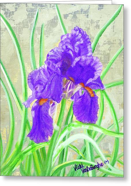 Iris Hope Greeting Card
