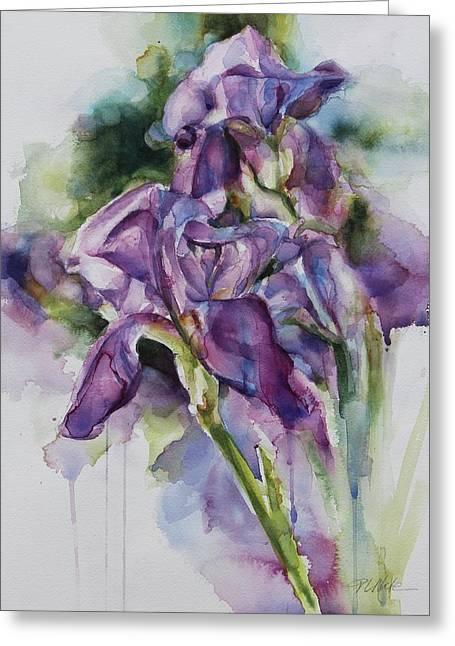 Iris Song Greeting Card
