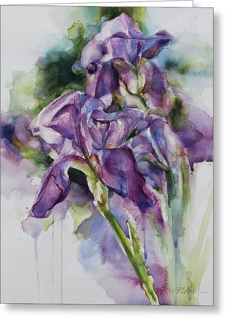 Iris Song Greeting Card