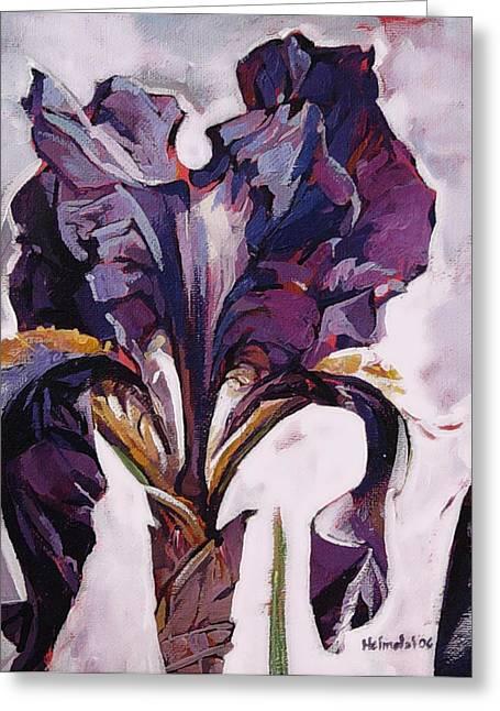 Iris Spring Greeting Card