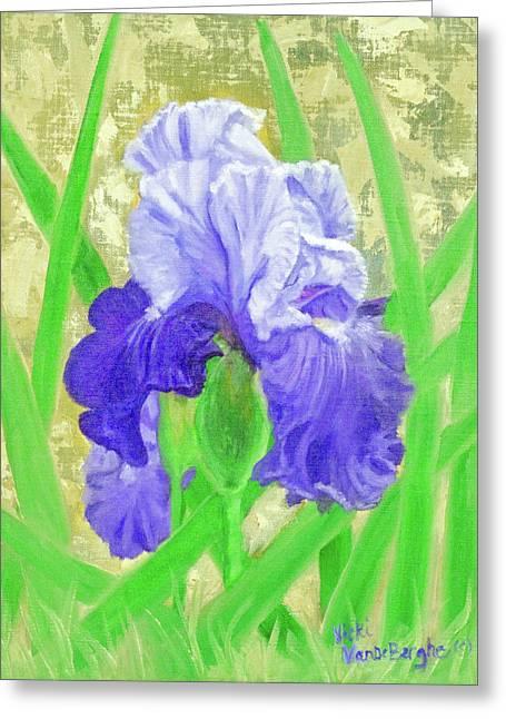 Iris Valor Greeting Card
