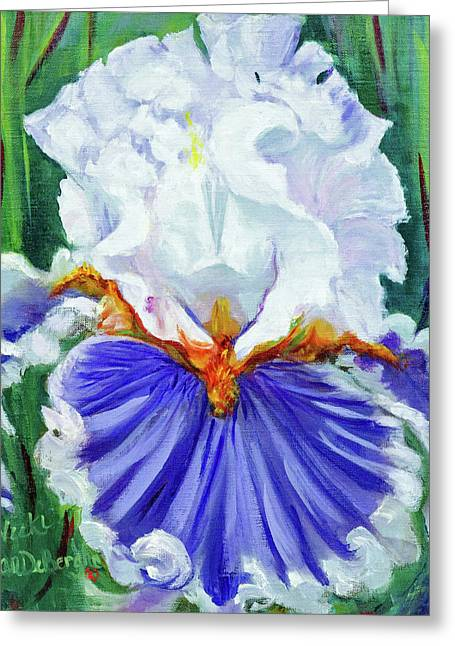 Iris Wisdom Greeting Card