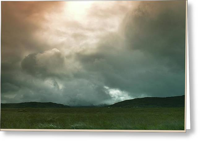 Greeting Card featuring the photograph Irish Atmospherics. by Terence Davis