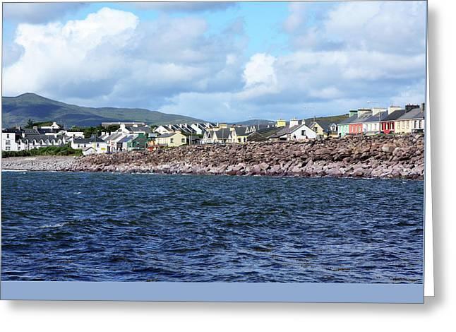 Irish Seaside Village - Co Kerry  Greeting Card by Aidan Moran