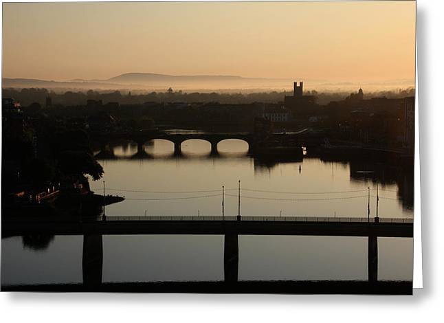 Irish Sunrise  Greeting Card