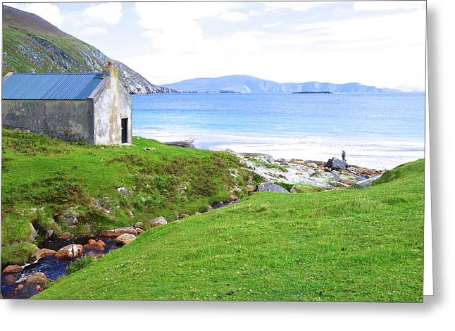Irish Treasures.. Past And Present Greeting Card