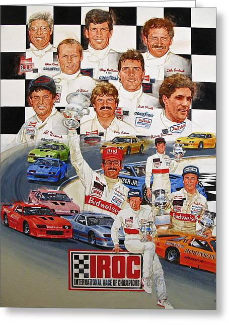 Iroc Racing Greeting Card