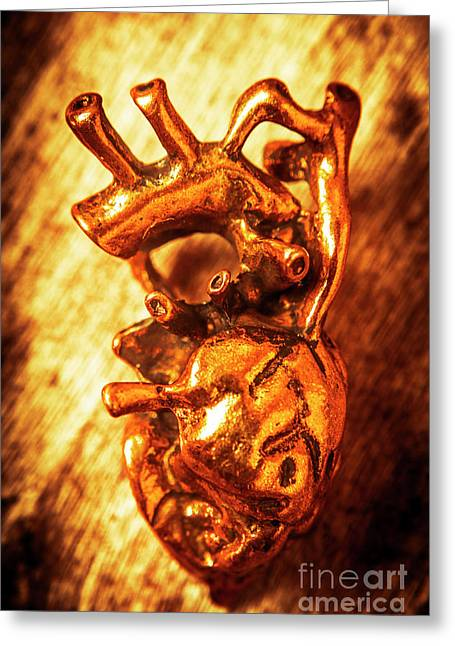 Iron Arteries  Greeting Card