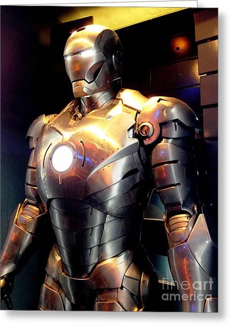 Iron Man 8 Greeting Card by Micah May