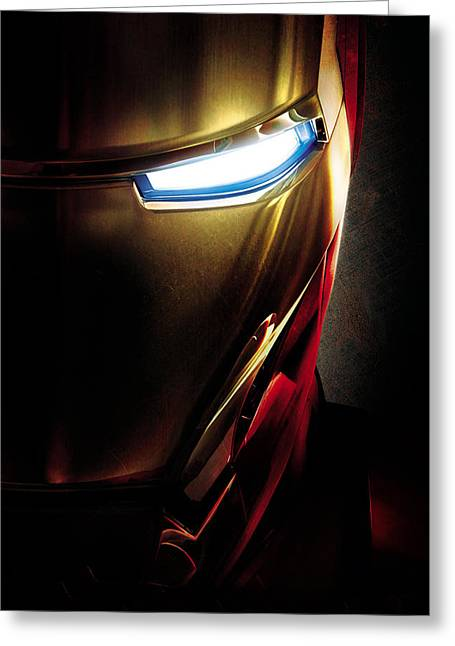 Iron Man Greeting Card by Unknown