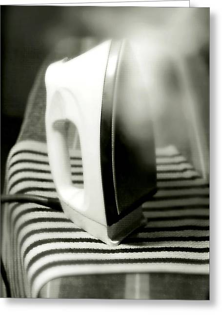 Ironing Day Greeting Card by Diana Angstadt