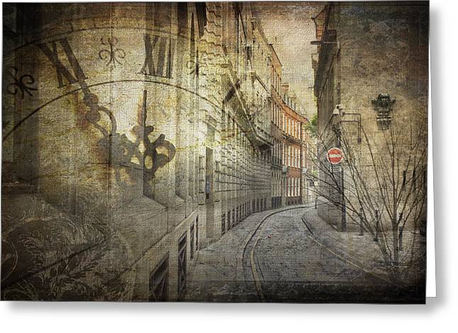 Ironmonger Lane Greeting Card by Nicky Jameson