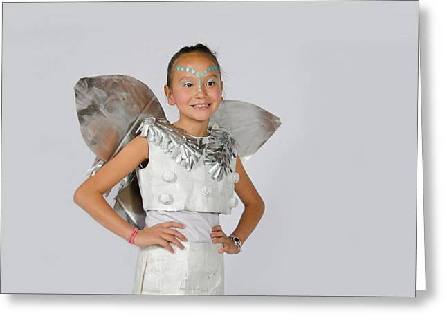 Isa In Snow Fairy Greeting Card