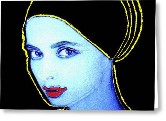 Isabella Rossellin I- A Greeting Card by JOnezi