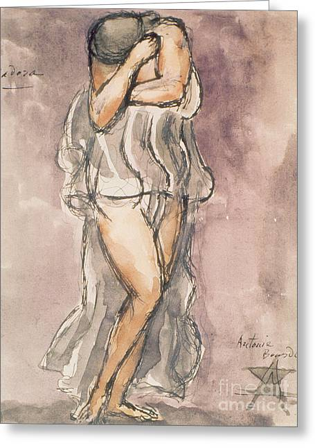Isadora Duncan Greeting Card