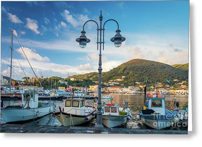 Ischia Porto Greeting Card