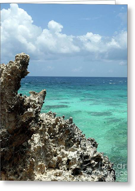Isla De Mujeras Greeting Card