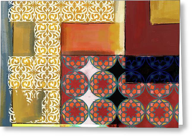 Islamic Motif I 440 1 Greeting Card by Mawra Tahreem