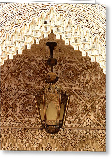 Islamic Plasterwork Greeting Card