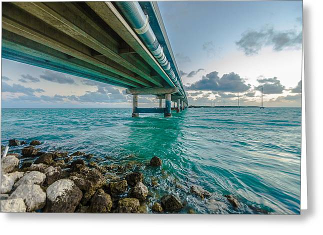 Islamorada Crossing Greeting Card by Dan Vidal