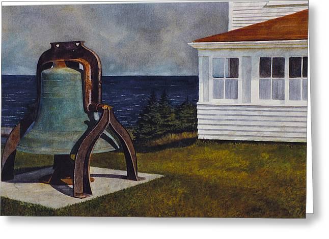Island Bell Greeting Card
