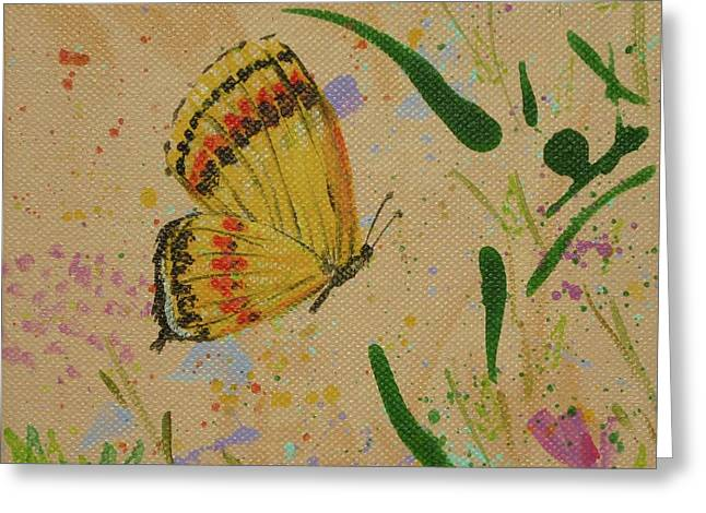 Island Butterfly Series 1 Of 6 Greeting Card