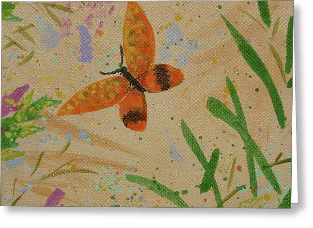 Island Butterfly Series 3 Of 6 Greeting Card
