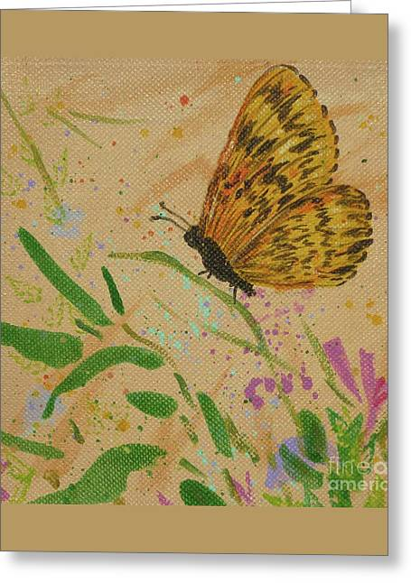 Island Butterfly Series 4 Of 6 Greeting Card