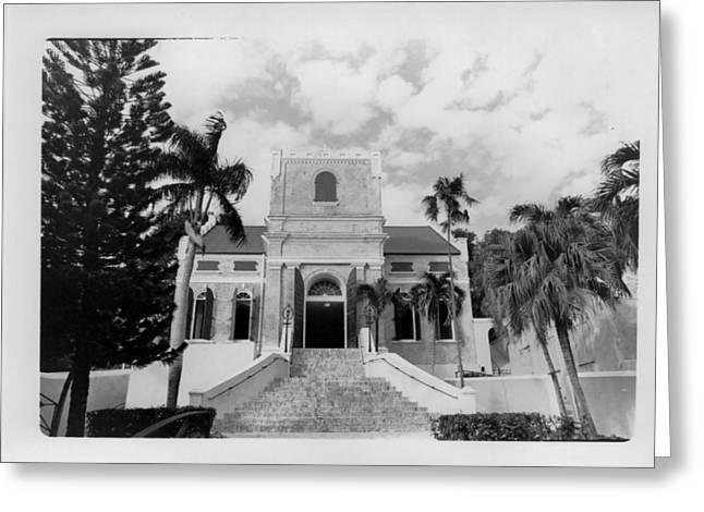 Island Church  Greeting Card