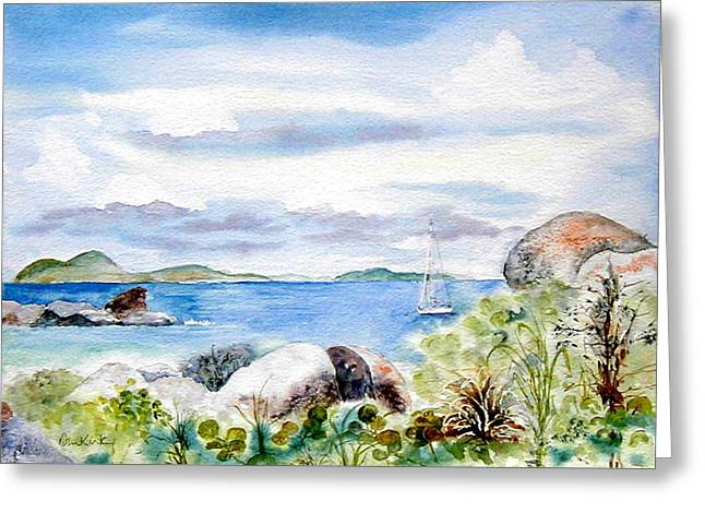 Island Memories Greeting Card