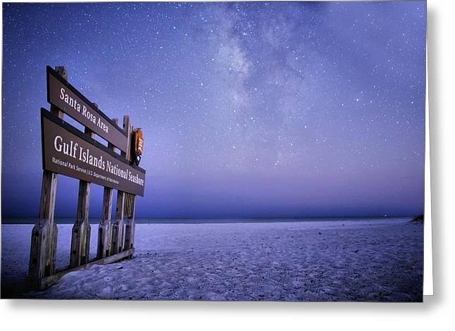 Island Nights Greeting Card by JC Findley