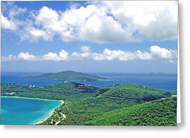 Greeting Card featuring the photograph Island Paradise by Gary Wonning